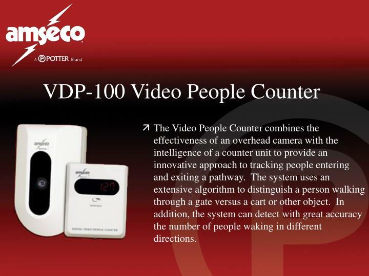 VDP-100 Video People Counter