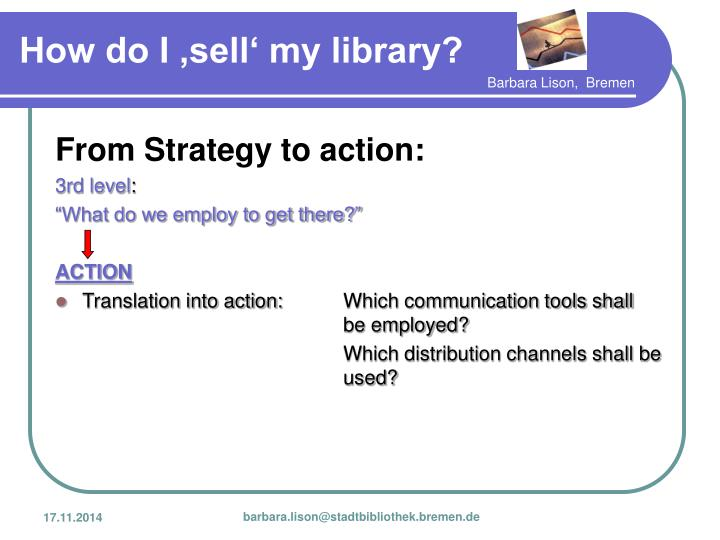 From Strategy to action: