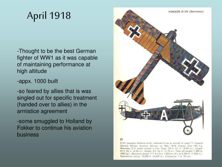 April 1918