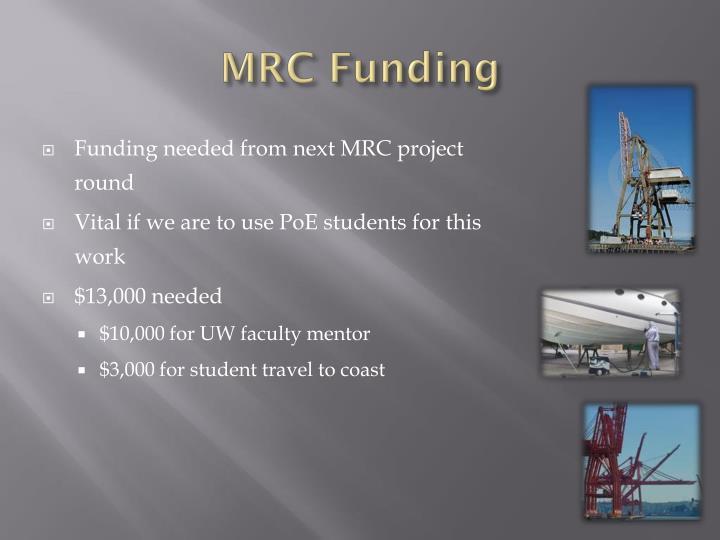 MRC Funding