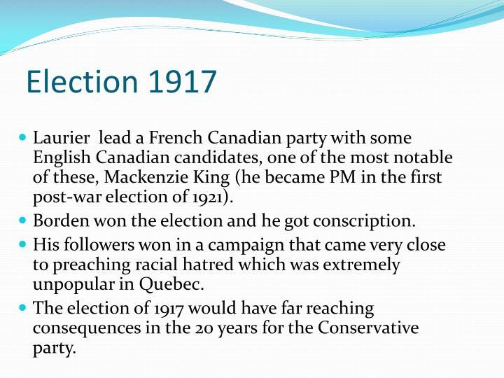 Election 1917