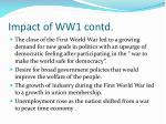 impact of ww1 contd2