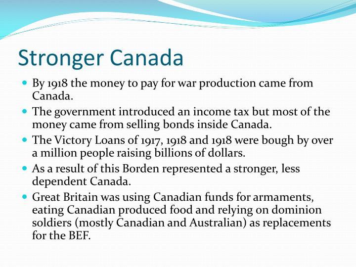 Stronger Canada