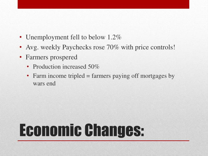Unemployment fell to below 1.2%