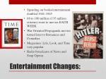 entertainment changes