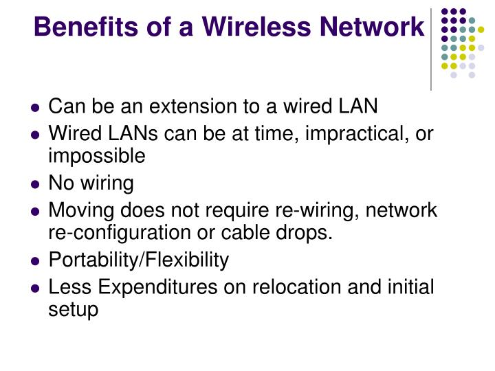 Benefits of a Wireless Network