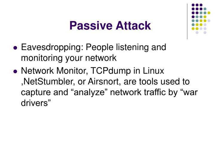 Passive Attack