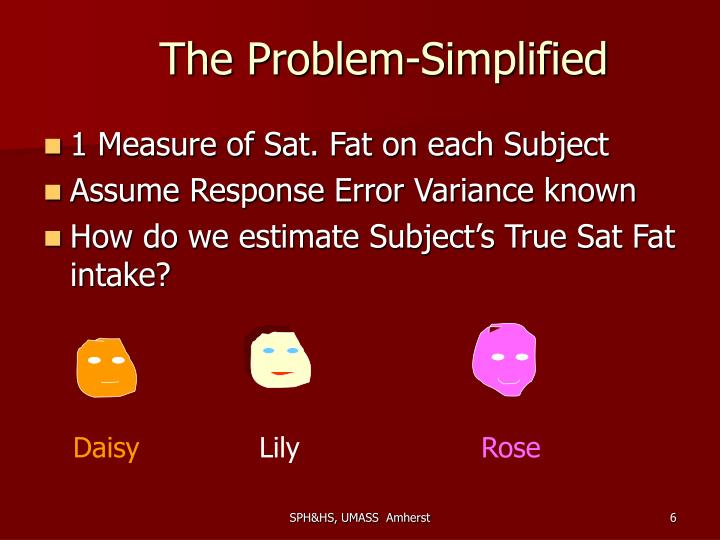 The Problem-Simplified