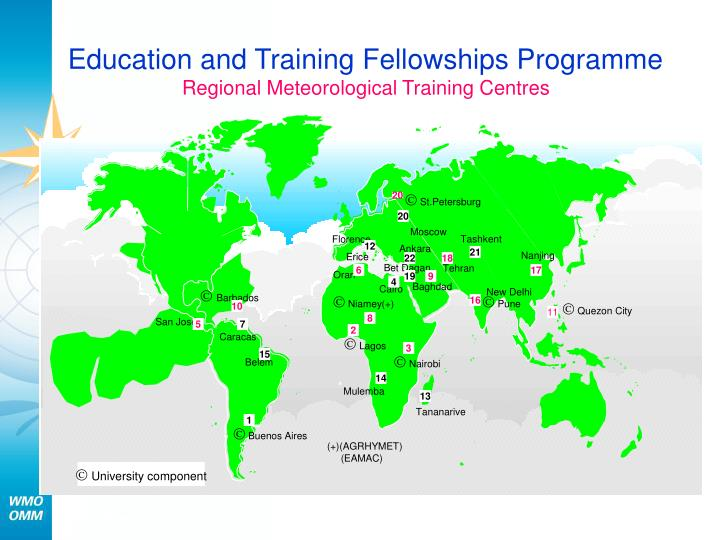 Education and Training Fellowships Programme