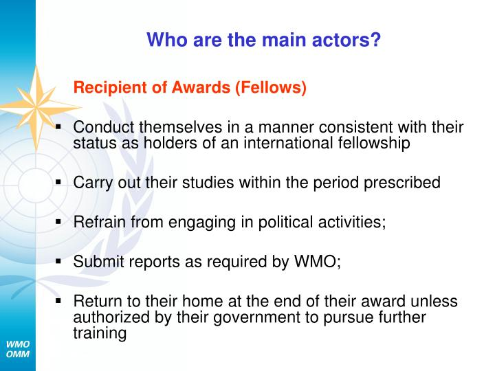 Who are the main actors?