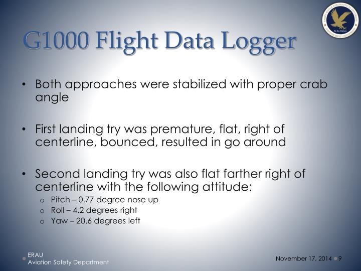 G1000 Flight Data Logger