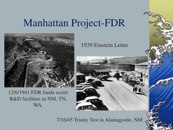 Manhattan Project-FDR