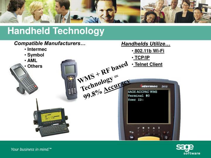 Handheld Technology