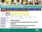 order allocation process