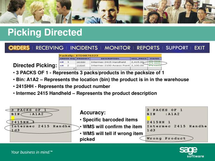 Directed Picking:
