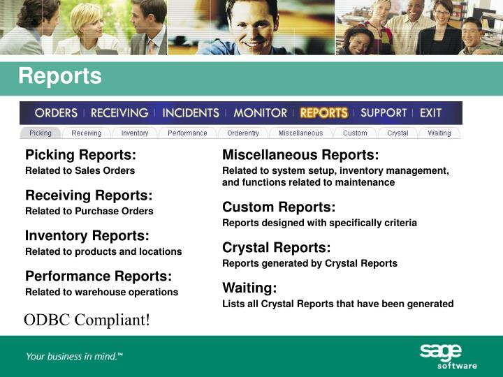 Picking Reports: