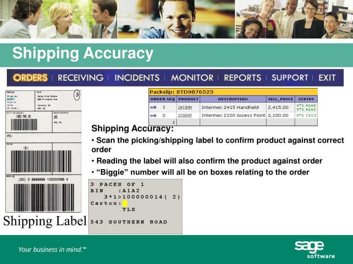 Shipping Accuracy: