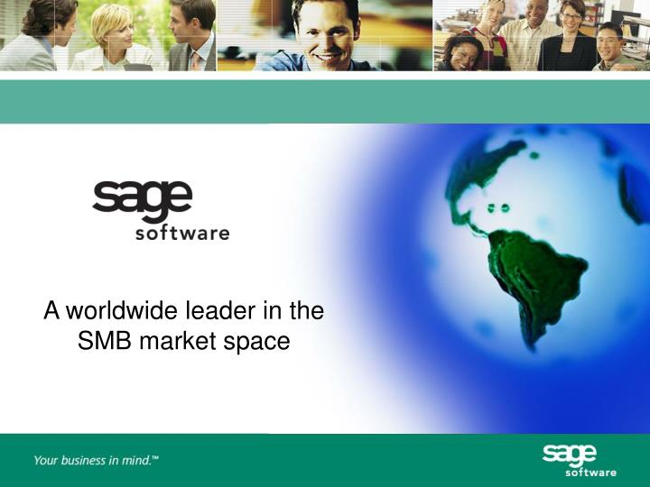 A worldwide leader in the SMB market space