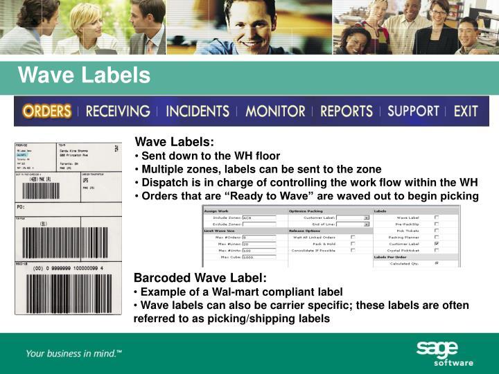 Wave Labels: