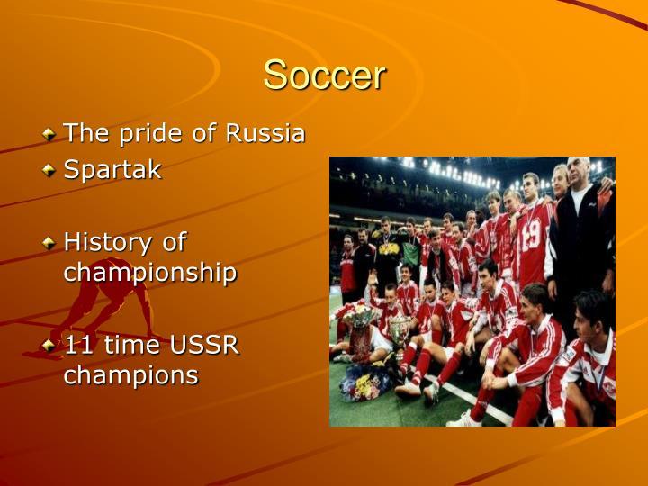 The pride of Russia