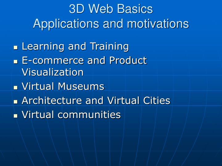 3D Web Basics