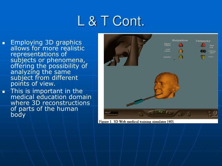 L & T Cont.