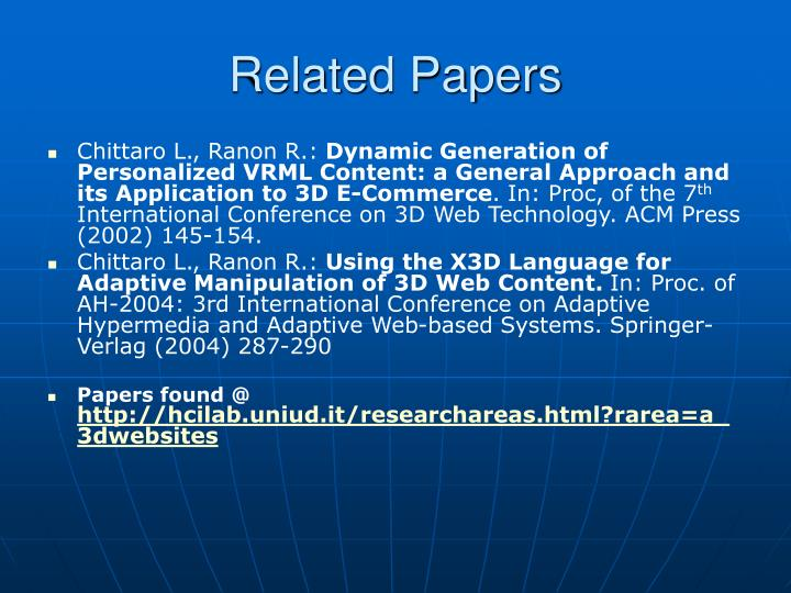 Related papers