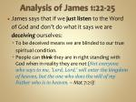analysis of james 1 22 251