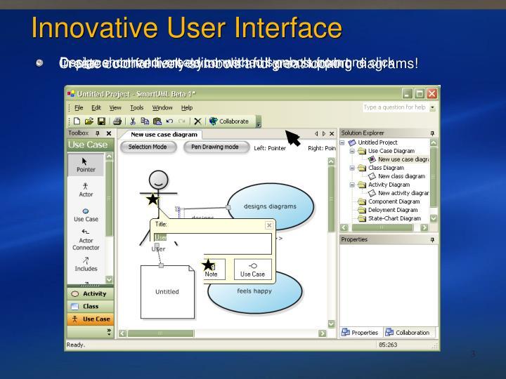 Innovative User Interface