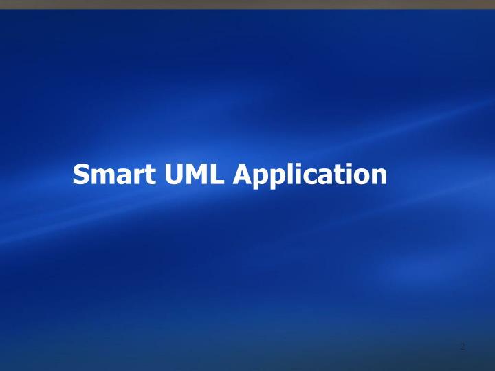 Smart UML Application