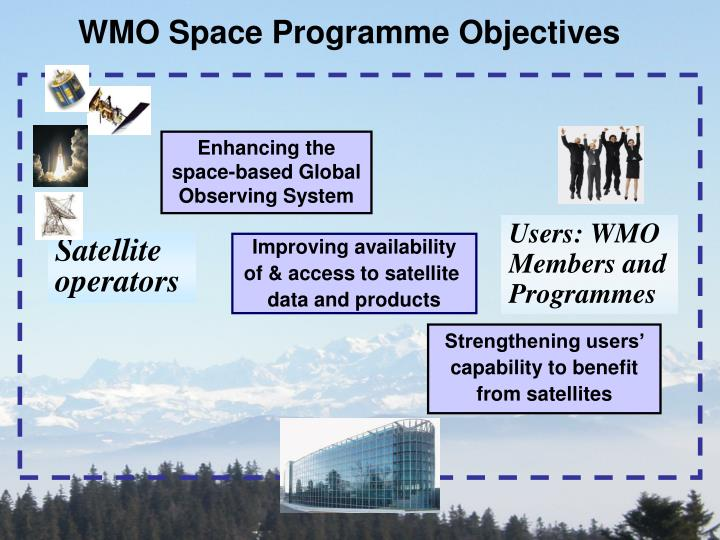 WMO Space Programme Objectives