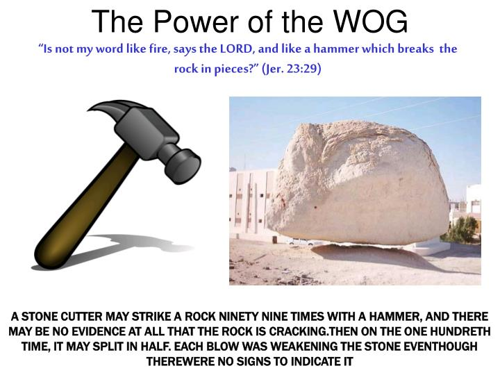 The Power of the WOG