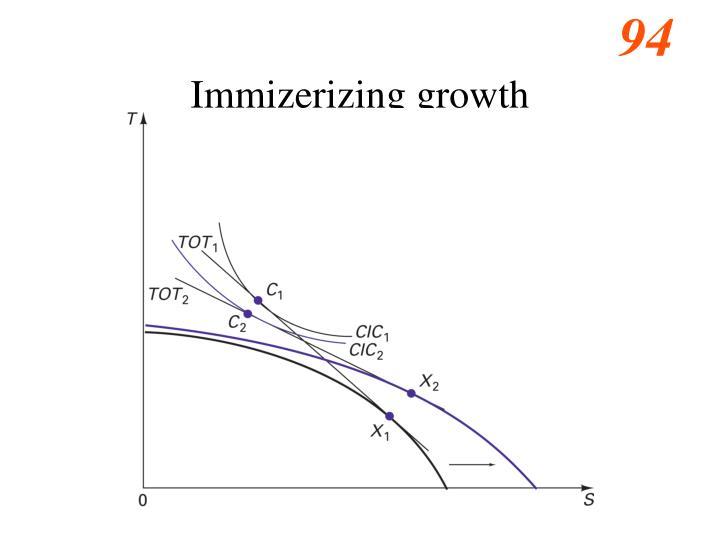 Immizerizing growth