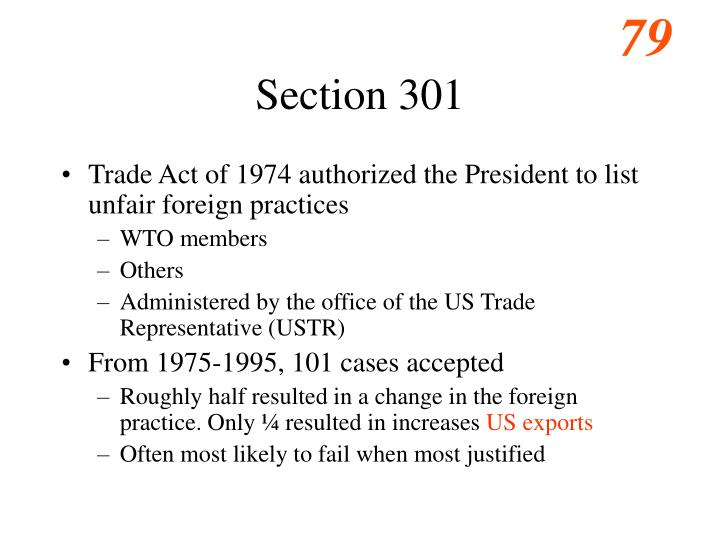 Section 301