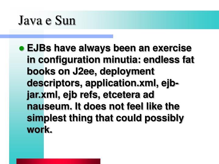 Java e Sun