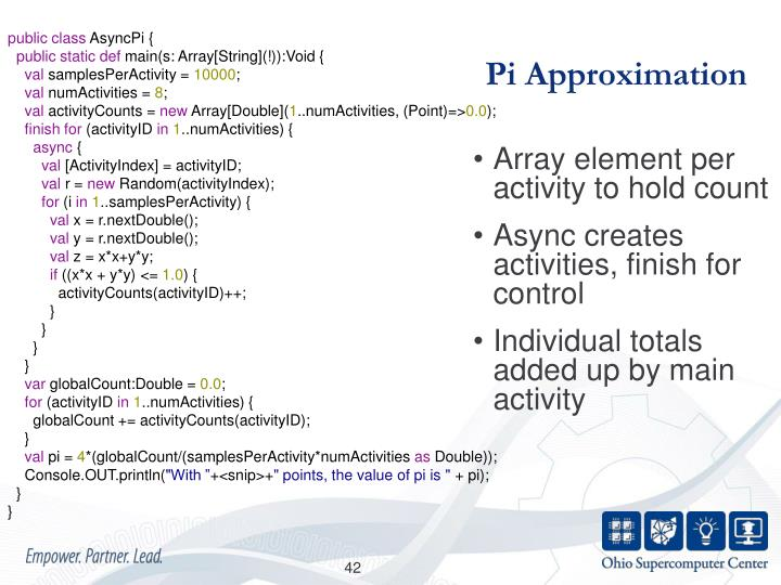 Pi Approximation