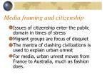 media framing and citizenship