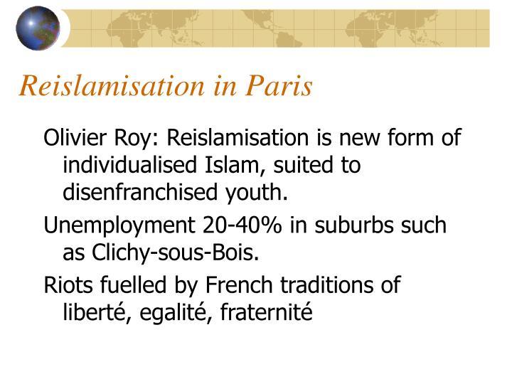 Reislamisation in Paris