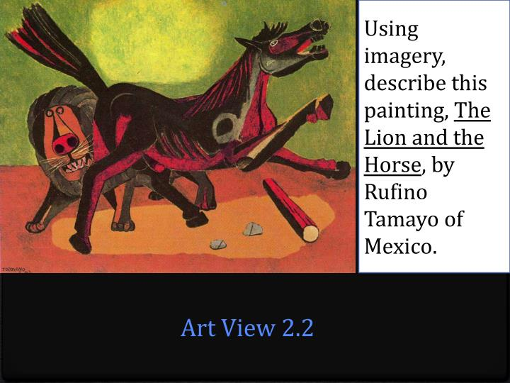 Using imagery, describe this painting,
