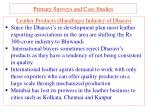 primary surveys and case studies1