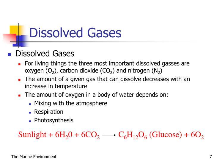 Dissolved Gases