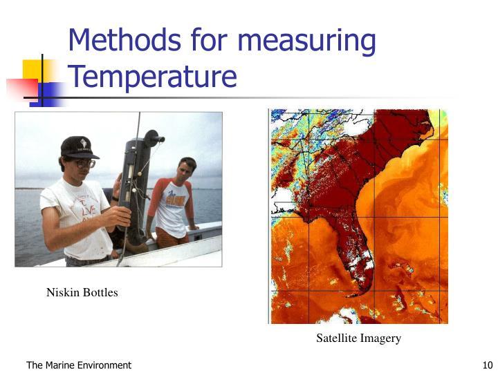 Methods for measuring Temperature