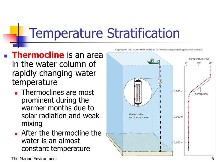 Temperature Stratification