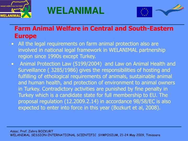 Farm Animal Welfare in Central and South-Eastern Europe