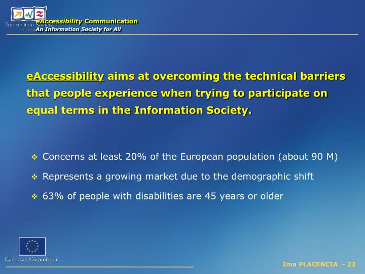 eAccessibility