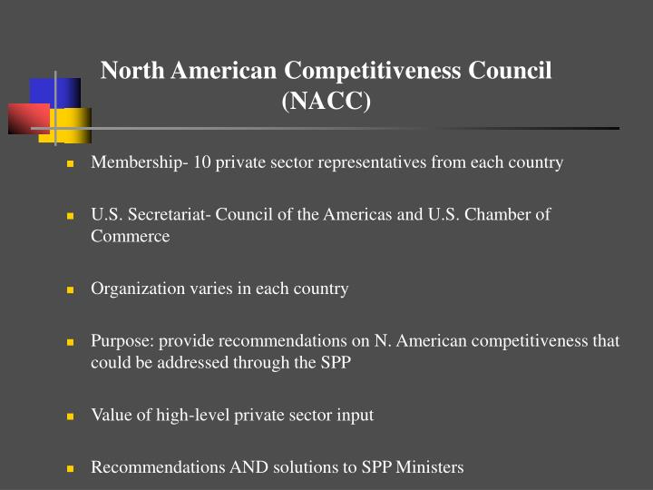 North American Competitiveness Council