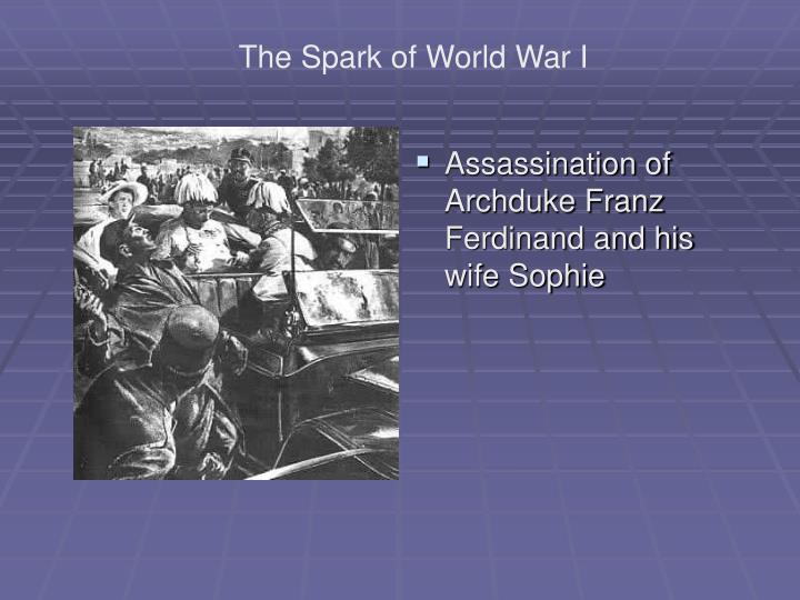 Assassination of Archduke Franz Ferdinand and his wife Sophie