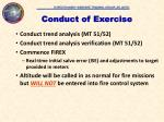 conduct of exercise1