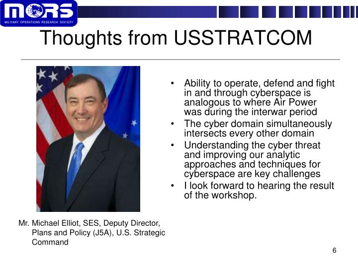 Thoughts from USSTRATCOM