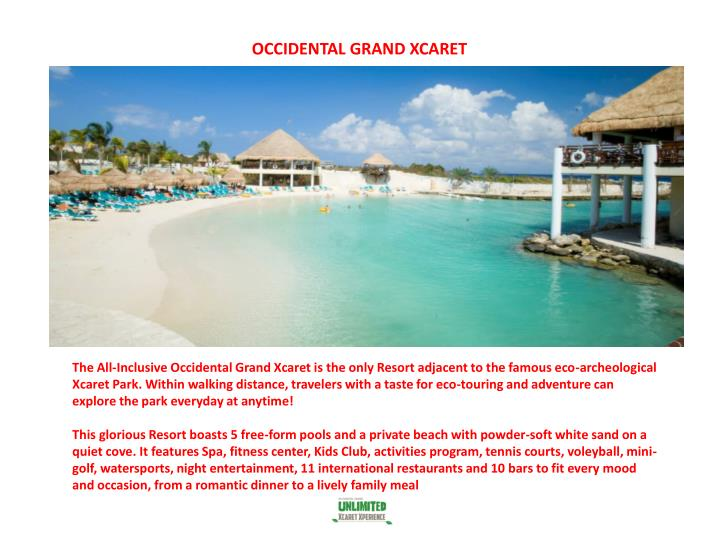 OCCIDENTAL GRAND XCARET